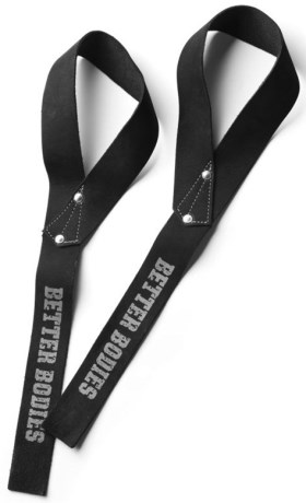 Better Bodies 1,5 inch Leather Straps - Better Bodies