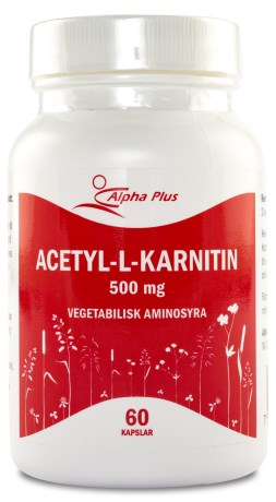 Alpha Plus Acetyl-L-karnitin , Kosttillskott - Alpha Plus
