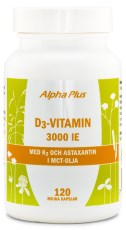 Alpha Plus D3-Vitamin 3000 IE +K2