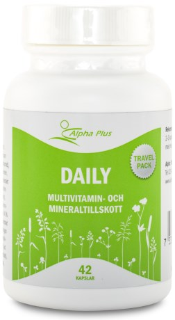 Alpha Plus Daily, Kosttillskott - Alpha Plus