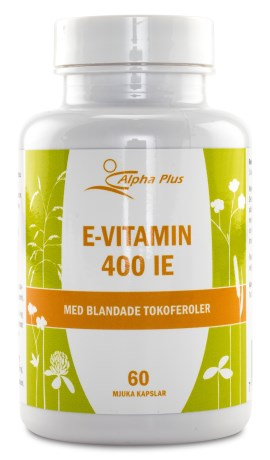 Alpha Plus E-vitamin 400IE,  - Alpha Plus