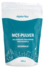 Alpha Plus MCT-pulver
