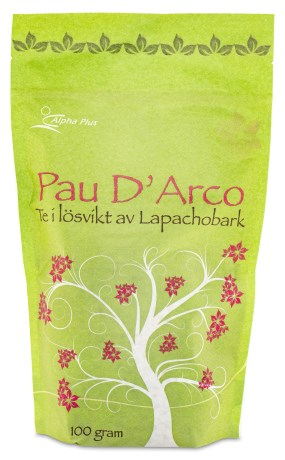 Alpha Plus Pau Darco Te, Livsmedel - Alpha Plus