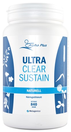 Alpha Plus UltraClear Sustain, Livsmedel - Alpha Plus