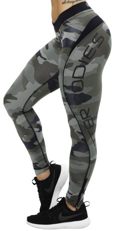 Better Bodies Camo Long Tights - Better Bodies