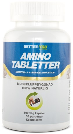 Better You Amino Tabletter, Kosttillskott - Better You