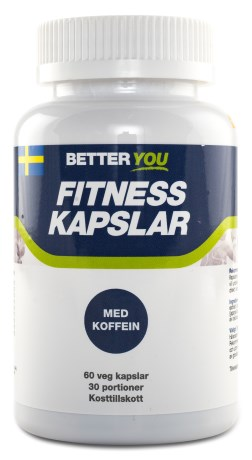Better You Fitness Kapslar, Kosttillskott - Better You