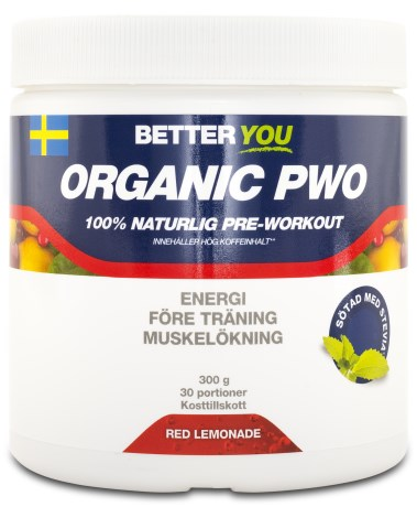 Better You Organic PWO, Kosttillskott - Better You