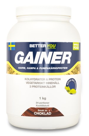 Better You Vegetarisk Gainer, Kosttillskott - Better You