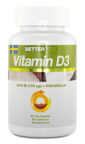 Better You Vitamin D3, Kosttillskott - Better You