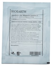 Bioearth Sheetmask Moisturising Soothing