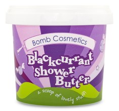 Bomb Cosmetics Shower Butter Blackcurrant