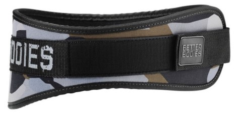 Better Bodies Camo Gym Belt - Better Bodies