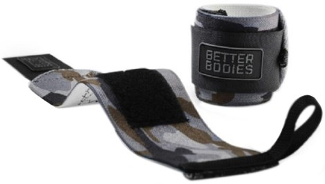 Better Bodies Camo Wrist Wraps,  - Better Bodies