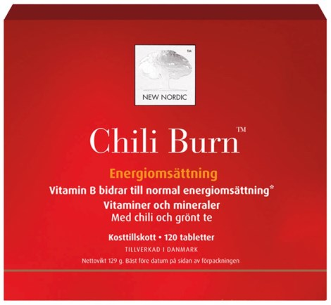 New Nordic Chili Burn, Kosttillskott - New Nordic