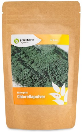 Great Earth Chlorellapulver - Great Earth