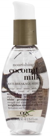 OGX Coconut Milk Anti-Breakage Serum,  - OGX