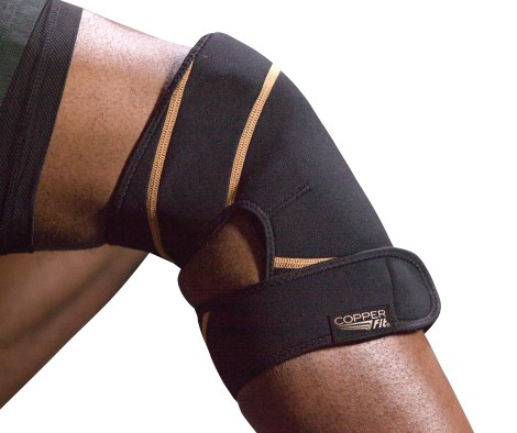 Copper Fit Rapid Relief Knee, Rehab - Copper Fit