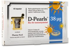 D-Pearls Vitamin D3 38 mcg