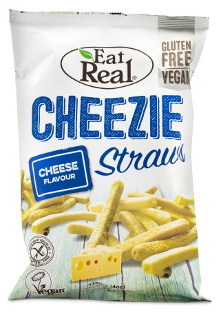 Eat Real Cheezie Straws, Livsmedel - Eat Real