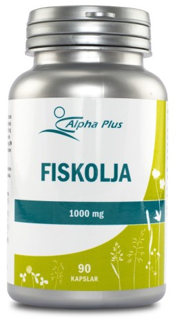 Alpha Plus Fiskolja 1000 mg - Alpha Plus
