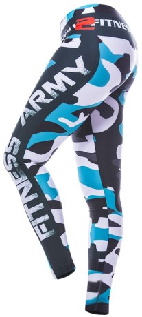 Myway2fitness Fitness Army Tights - Myway2fitness