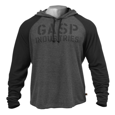 GASP L/S Thermal Hoodie, Outlet - Gasp