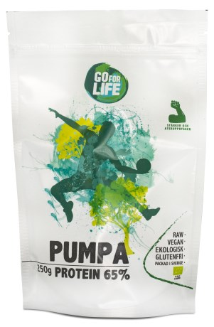 Go for Life Pumpaprotein EKO, Kosttillskott - Go for Life