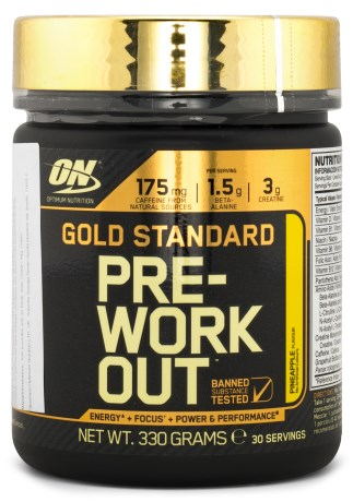 Gold Standard Pre-workout - Optimum Nutrition