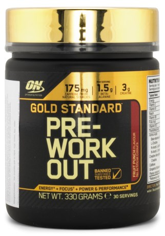 Gold Standard Pre-workout, Kosttillskott - Optimum Nutrition
