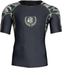 Gorilla Wear Cypress Rashguard Short Sleeve