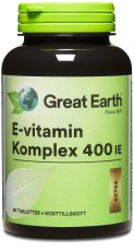 Great Earth E-vitamin Komplex 400 IE