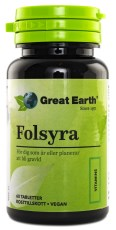 Great Earth Folsyra Vegan