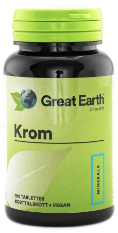 Great Earth Krom, Viktkontroll & diet - Great Earth