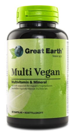Great Earth Multi Vegan, Kosttillskott - Great Earth
