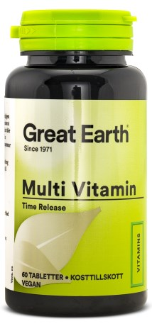 Great Earth Multi Vitamins, Kosttillskott - Great Earth