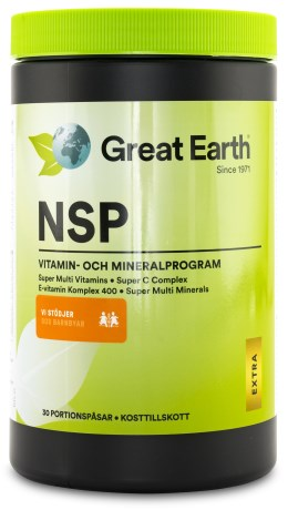 Great Earth NSP Daily Packs, Kosttillskott - Great Earth