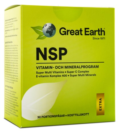 Great Earth NSP Daily Packs - Great Earth