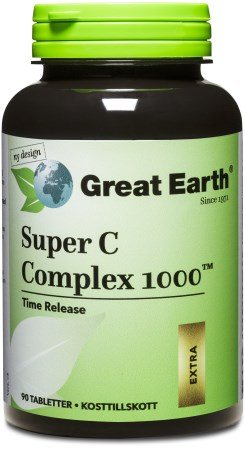 Great Earth Super C Complex 1000, Kosttillskott - Great Earth