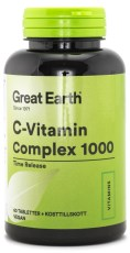 Great Earth C-vitamin Complex 1000