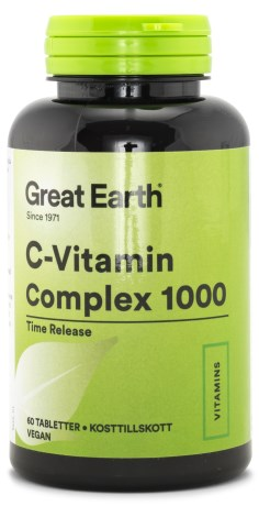 Great Earth C-vitamin Complex 1000, Kosttillskott - Great Earth