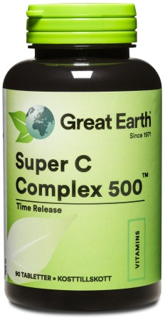 Great Earth Super C Complex, Kosttillskott - Great Earth
