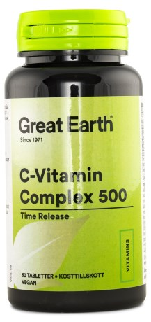 Great Earth C-Vitamin Complex 500 - Great Earth