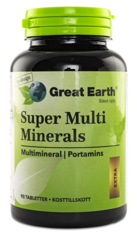 Great Earth Super Multi Minerals, Kosttillskott - Great Earth