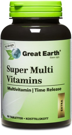 Great Earth Super Multi Vitamins, Kosttillskott - Great Earth
