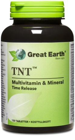 Great Earth TNT Multivitamin & Mineral, Kosttillskott - Great Earth