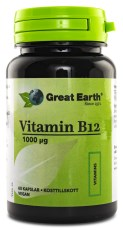 Great Earth Vitamin B12 1000 mcg Vegan