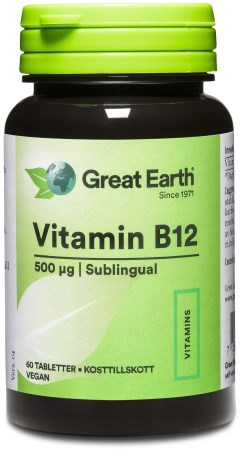 Great Earth Vitamin B12 - Great Earth
