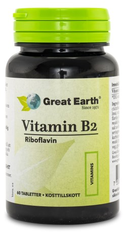 Great Earth Vitamin B2 - Great Earth