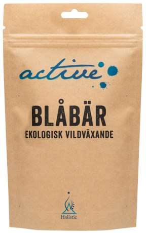 Holistic Active Blåbärspulver,  - Holistic